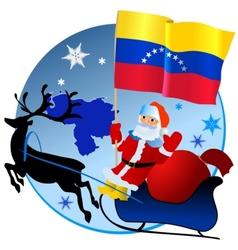 Merry Christmas Venezuela vector