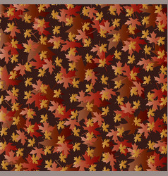 Overlapping gradient leaf pattern vector