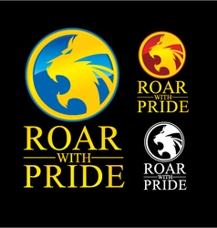 Roar With Pride vector