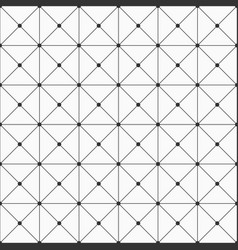 seamless geometric background with rectangles vector image