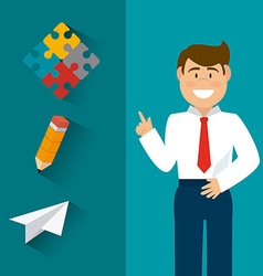 Strategy business design vector