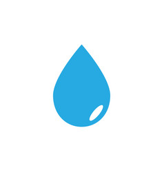 water drop icon graphic design template vector image