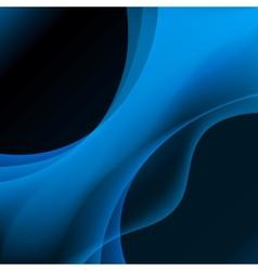 Blue Plasma Background vector image vector image