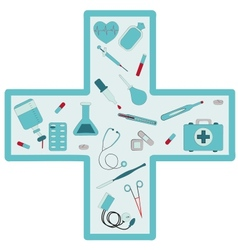 medical set vector image vector image