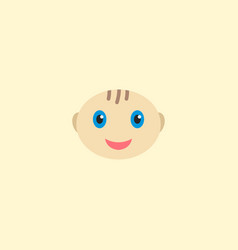 baby boy icon flat element of vector image