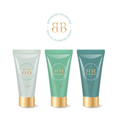 Bb cream logo and identity vector