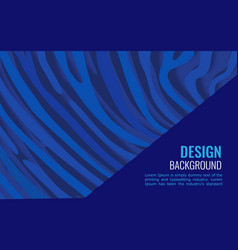 bright blue horizontal abstract background vector image