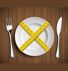 Dieting and weight loss vector