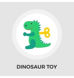 Dinosaurus flat icon vector