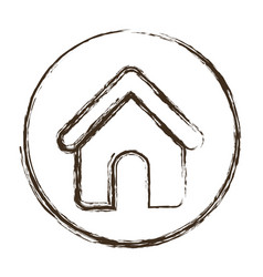 House shape icon vector