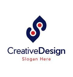 Human point location creative modern logo vector
