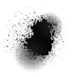 ink blob vector image