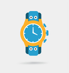 Male watch icon expensive gifts vector
