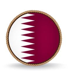 Qatar seal vector