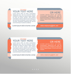 set of colorful banner vector image