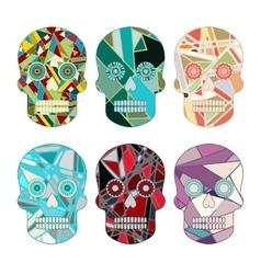 Skull Set vector