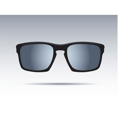 sunglasses isolated icons vector image