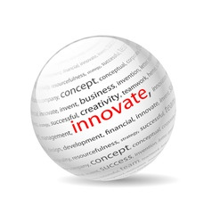 innovate vector image vector image