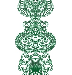 Asian Ethnic Ornament vector