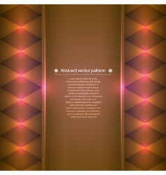 Background with bright color accents vector