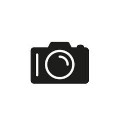 camera black icon vector image