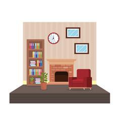 home livingroom place scene vector image
