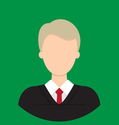judge characte icon great of character use for vector image