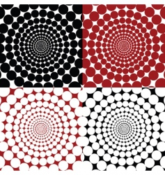 optical effects vector image