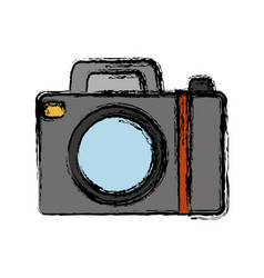Photograhic camera icon vector