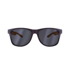 realistic sunglasses isolated on white background vector image