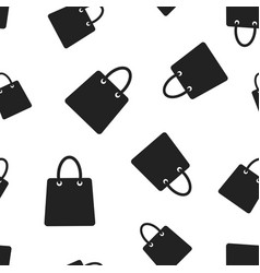 shopping bag seamless pattern background business vector image