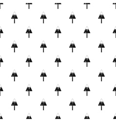 Trowel pattern simple style vector