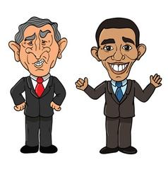 American Presidents vector image vector image