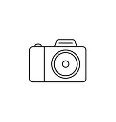 camera of icon vector image