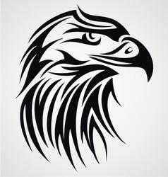 Eagle Head Tattoo Design vector image