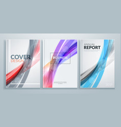 business brochure cover design templates business vector image