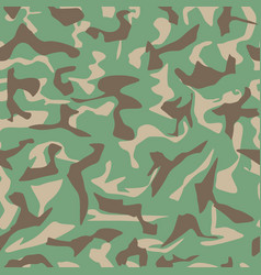 camouflage army vector image