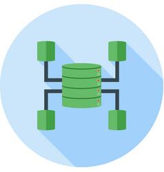 Data warehouse vector