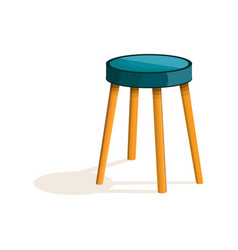 kitchen chair icon cartoon style vector image