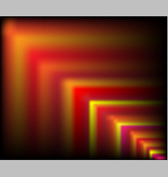 Multi coloured blurred squares 3d vector