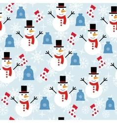 ornament winter vector image