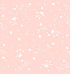 Seamless winter pattern merry christmas texture vector