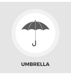 Umbrella icon flat vector image