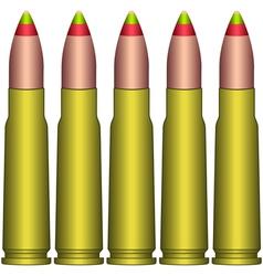 Cartridge clip vector