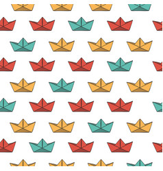 abstract seamless pattern background with vector image vector image