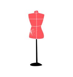dressmakers tailors dummy mannequin vector image