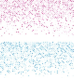 Circles technology pattern banners vector image vector image