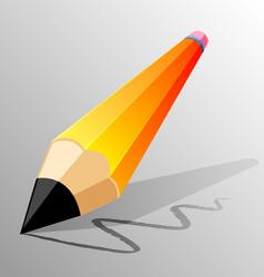 pencil design vector image vector image