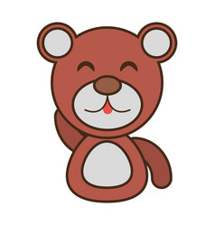 bear baby animal funny image vector image