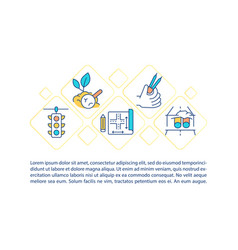 Civil infrastructure systems concept icon with vector